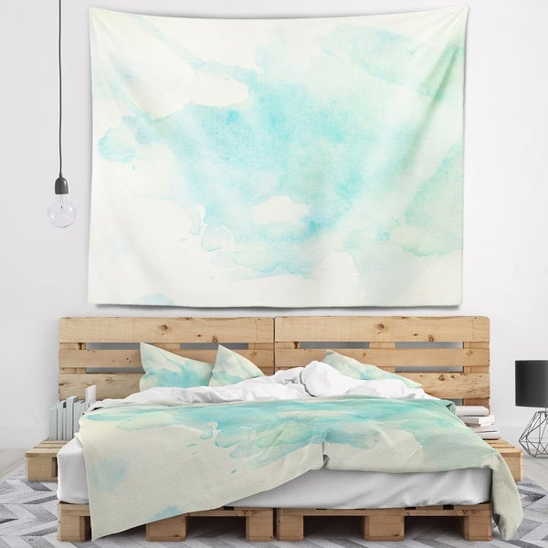 Designart 'Stain of Imagination' Abstract Wall Tapestry