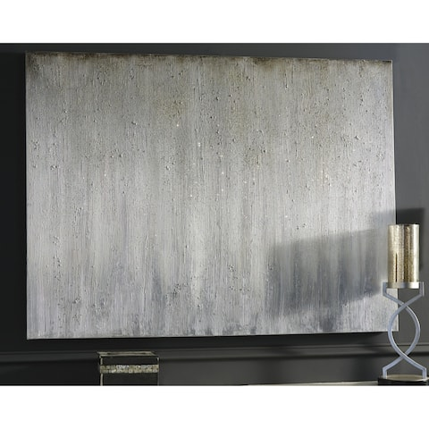 Paytah Silver Ombre Wall Art