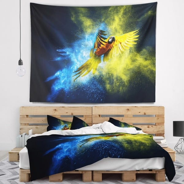 Designart 'Discontinued product' Contemporary Animal Wall Tapestry