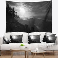 Designart 'Sandstone Peaks and Hills' Landscape Photo Wall Tapestry