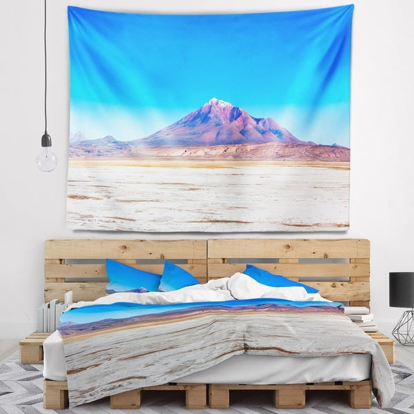Designart 'Discontinued product' Modern Seascape Wall Tapestry