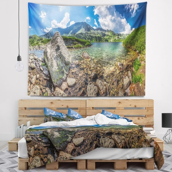 Designart 'Discontinued product' Seashore Wall Tapestry