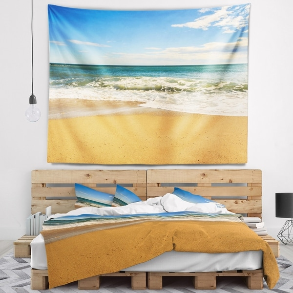 Designart 'Daylight Relaxation' Landscape Photography Wall Tapestry