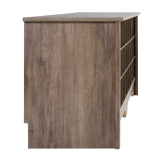 """Prepac 60"""" Shoe Cubby Bench, Multiple Finishes (Option: Storage - Shoe Rack Bench - GREY)"""