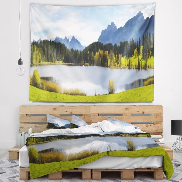 Designart 'Panorama Landscape in Bavaria' Photography Wall Tapestry