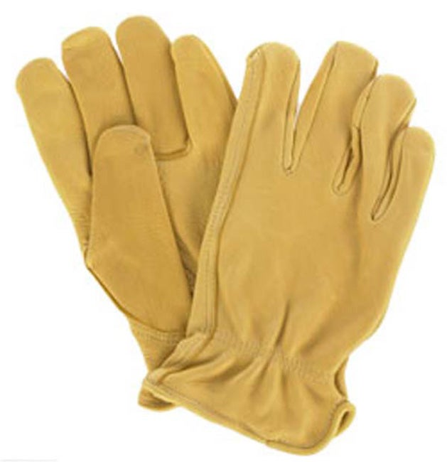 Daxx Premium GrainDeerskin Hand Clean Tan Color Leather Gloves