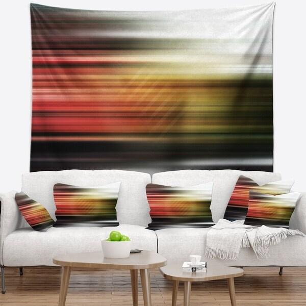 Designart 'Horizontal Lights' Contemporary Wall Tapestry