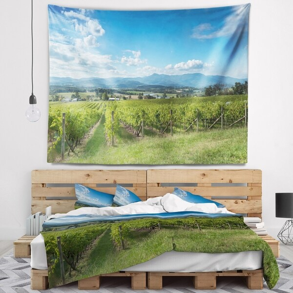 Designart 'View of the Yarra Valley Melbourne' Photography Wall Tapestry