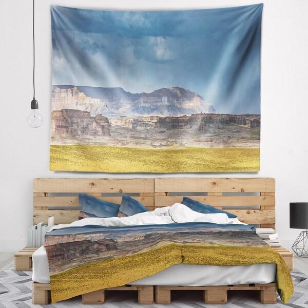 Designart 'Lake Powell Panorama' Landscape Wall Tapestry
