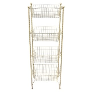 Silver Orchid Grant Metal Rack-Champagne