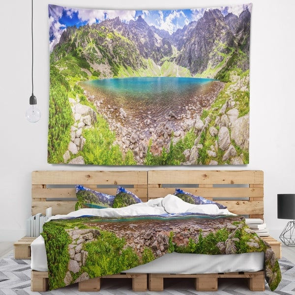 Designart 'Discontinued product' Landscape Wall Tapestry