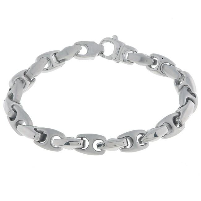 Stainless Steel Mariner Link Bracelet