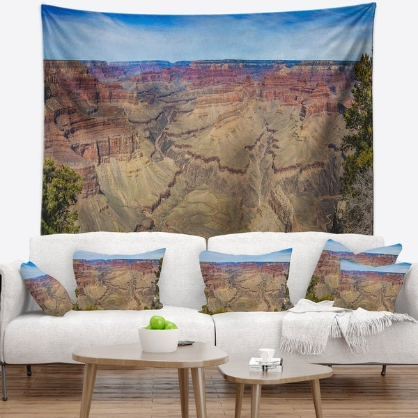 Designart 'Grand Canyon National Park' Landscape Wall Tapestry