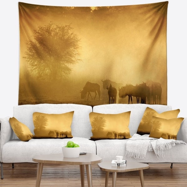 Designart 'Discontinued product' African Wall Tapestry