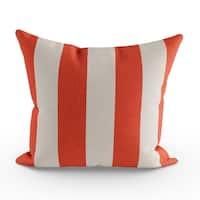 Porch & Den Hopecrest Dorsey Outdoor Striped 20-inch Throw Pillow