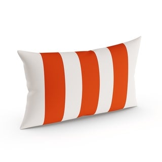 Havenside Home Midland Outdoor Striped Lumbar Pillow