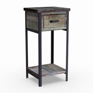 Carbon Loft Scott Wood Accent Table Cabinet