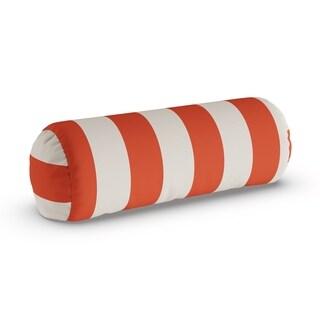 Porch & Den Hopecrest Dorsey Outdoor Striped Bolster Pillow