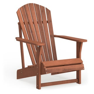 Havenside Home Del Mar Solid Acasia Wood Adirondack Chair