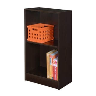 Porch & Den Gold Brooke Niche No Tools Assembly 2-shelf Bookcase