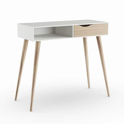 Carson Carrington Kristiansund White Oak Desk