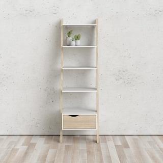 Carson Carrington Kristiansund White Oak Stair Bookcase