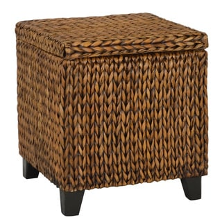 The Curated Nomad Consuelo Square Storage Ottoman