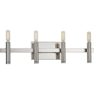 Carson Carrington Hameenlinna Steel 4-light Bath Light