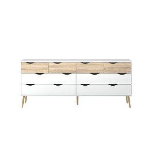 Carson Carrington Kristiansund Wood Two-tone 8-drawer Dresser
