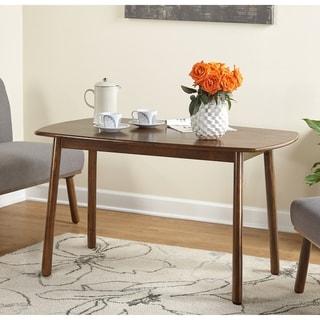 Carson Carrington Skien Walnut/ Rubberwood Dining Table - Walnut