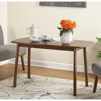 Carson Carrington Skien Walnut/ Rubberwood Dining Table