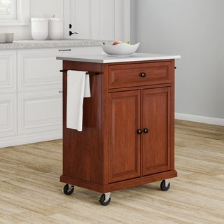 Copper Grove Kawartha Cherry Portable Kitchen Island - N/A
