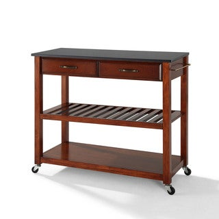Copper Grove Bell Lake Granite Top with Cherry Finish - N/A