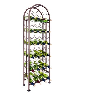 Copper Grove Edenvale 47-bottle Matte Black Wine Rack