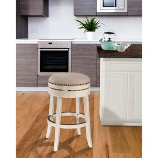 Shop Hillsdale Furniture Aubrie Swivel Backless Bar Stool