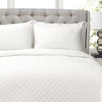 Copper Grove Balm Diamond Oversized Cotton 3-piece Quilt Set