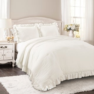 amelie white wash shabby chic country. Maison Rouge Fabien 3-piece Comforter Set Amelie White Wash Shabby Chic Country E