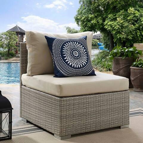 Havenside Home Bocabec Trendy Outdoor Patio Armchair
