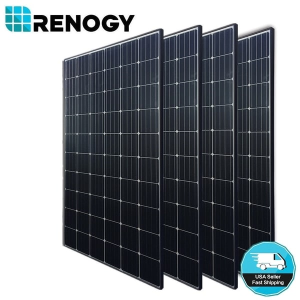 Shop 4 X Renogy 300W Mono Solar Panel 1000W 1200W 24V 48V Off Grid
