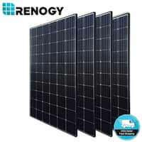 4 X Renogy 300W Mono Solar Panel 1000W 1200W 24V 48V Off Grid Power Home Garden