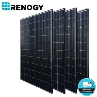 4 X Renogy 300W Mono Solar Panel 1000W 1200W 24V 48V Off Grid Power Home Garden