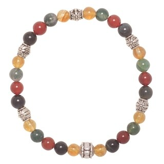 Handmade - Healing Stones for You 'Attract Abundance' Intention Bracelet (USA)
