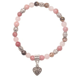 Handmade - Healing Stones for You 'Attract Love' Intention Bracelet (USA)