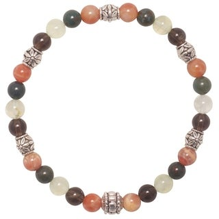 Handmade - Healing Stones for You 'Protection' Intention Bracelet (USA)