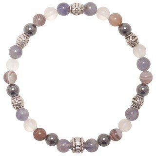 Handmade - Healing Stones for You 'Quit Smoking' Intention Bracelet (USA)