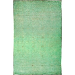 "Vibrance Overdyed Green Area Rug - 10' 2"" x 15' 5"""