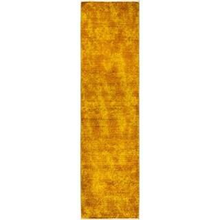 "Vibrance Overdyed Yellow Runner Rug - 2' 8"" x 9' 10"""