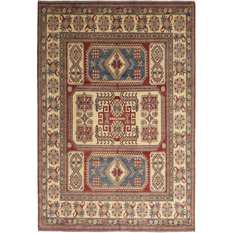 "Kazak Red Area Rug - 9'3"" x 13'4"""