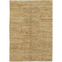 "Modern Brown Area Rug - 6' 1"" x 9' 1"""