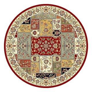Safavieh Lyndhurst Traditional Oriental Multicolor/ Ivory Rug (5' 3 Round)